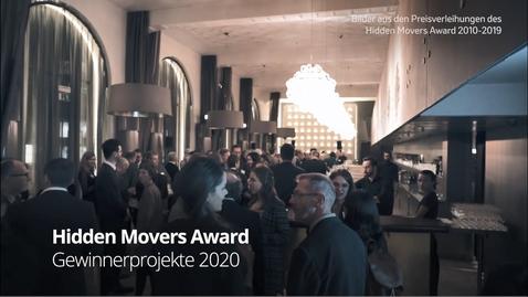 Thumbnail for entry Hidden Movers Award 2020