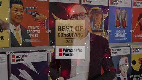 Thumbnail for entry WirtschaftsWoche und BDU gratulieren Deloitte zur Best of Consulting Auszeichnung
