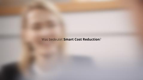 Thumbnail for entry Digitalisierung und Kostensenkung: Smart Cost Reduction – Wie geht das?